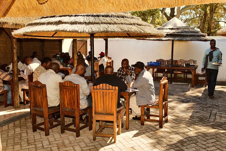 Hunter's Retreat Boma Seminar Catering